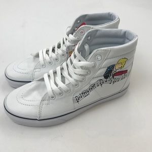 f59ba3a5cf Vans Shoes - PEANUTS VANS- Schroeder and Lucy HIGH TOPS